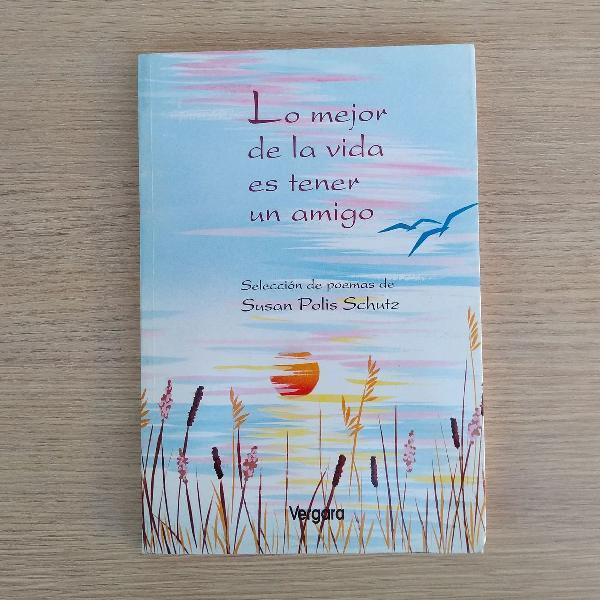 """Livro """"lo mejor de la vida es tener um amigo"""""""