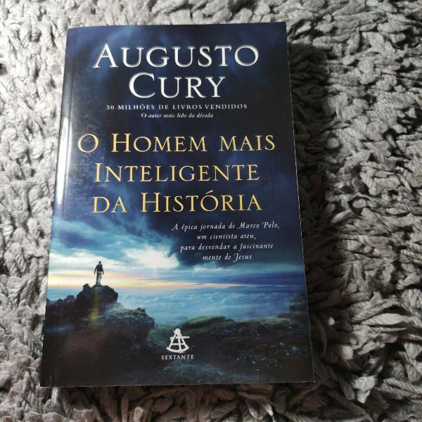 Livro o homem mais inteligente da história. augusto cury.