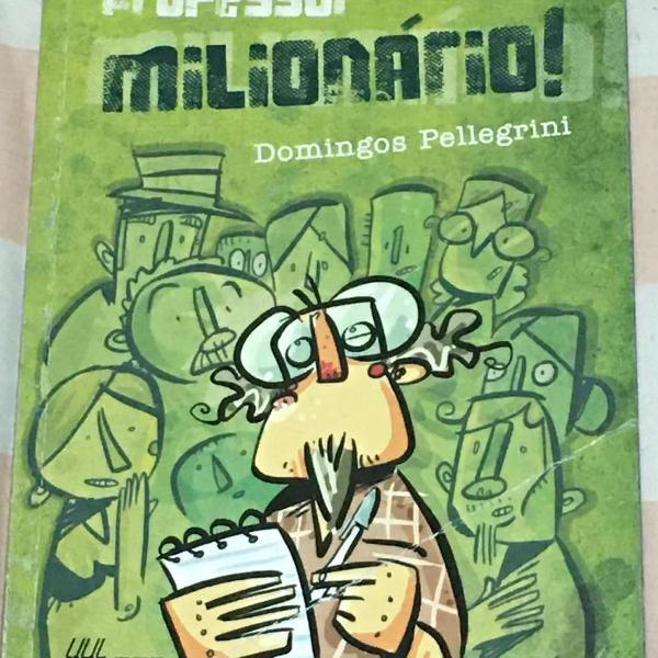 Livro professor milionário.