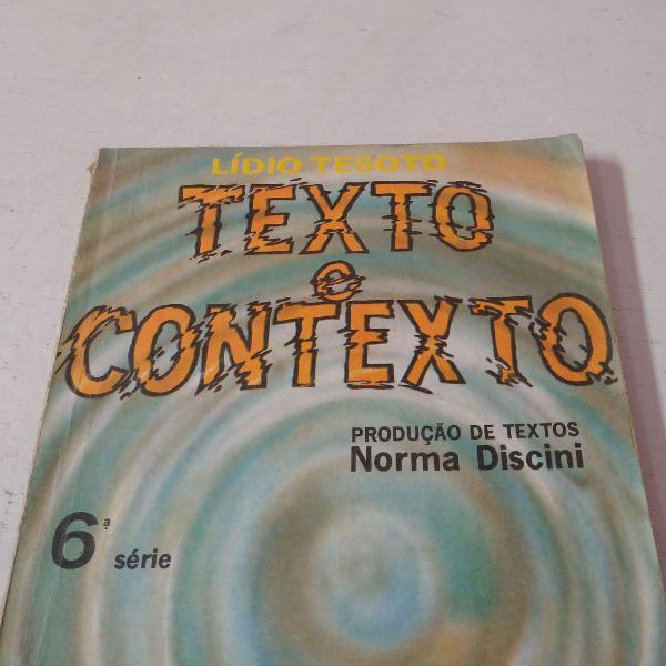 Texto e contexto (cód 152)