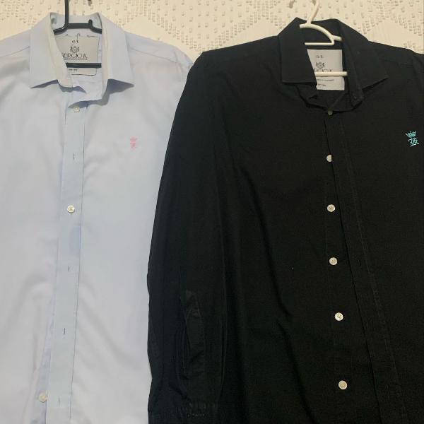 2 camisas manga comprida