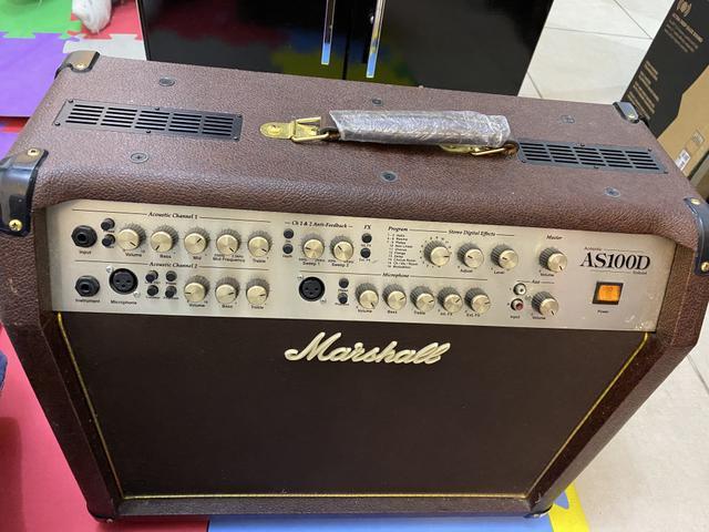 Amplificado marshall acústic as100d