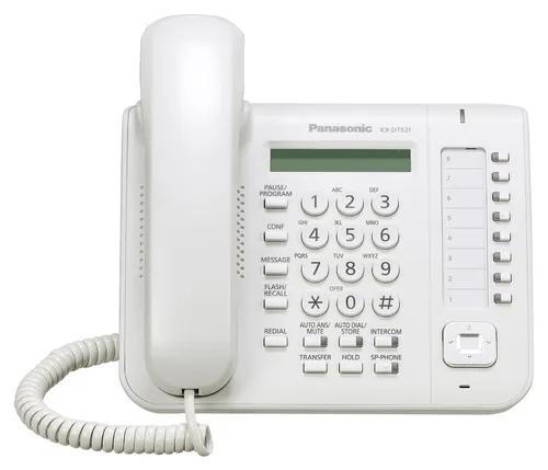 Aparelho telef. ks digital panasonic kx-dt521x branco