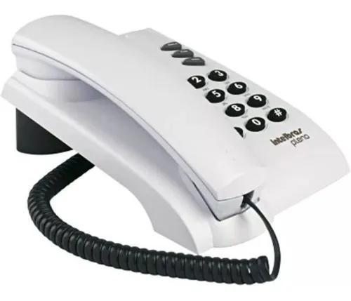 Aparelho telefone fio fixo intelbras pleno de mesa com nf-e