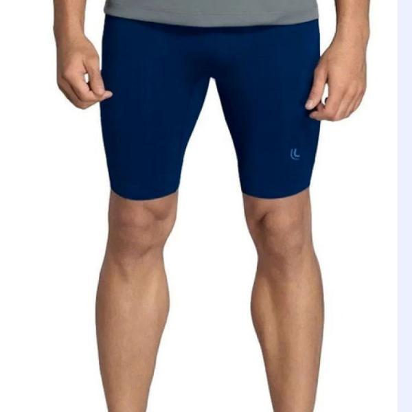 Bermuda térmica compressão masculino sem costura lupo