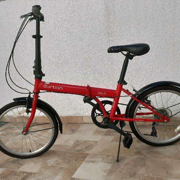 Bike durban bay6 dobrável