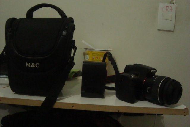Camera dslr sony a55 - preço de desapego