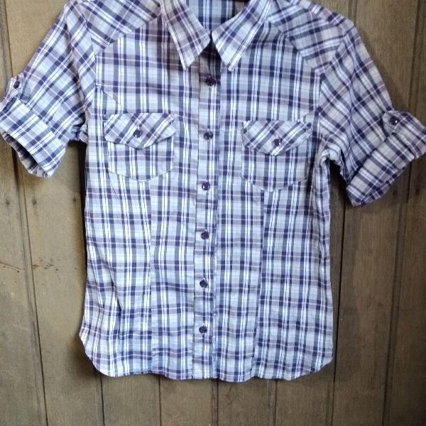 Camisa xadrez kampen