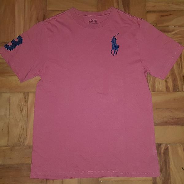 Camiseta manga curta - polo ralph lauren salmon