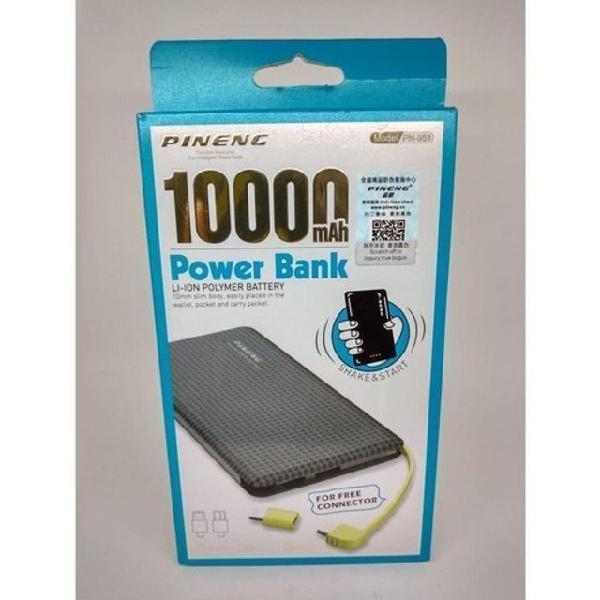 Carregador portátil power bank 10.000