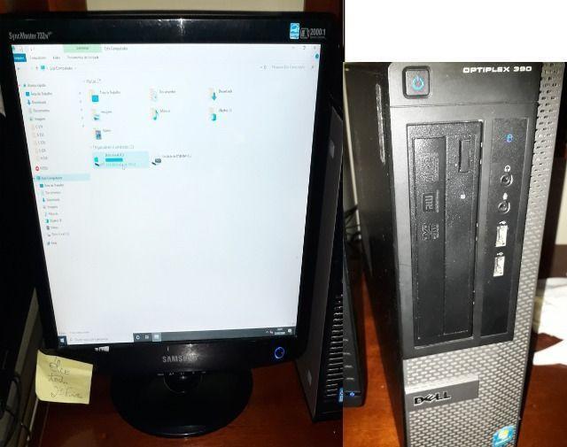Dell opltiplex 390 i5 4gb 120 ssd hd computador pc