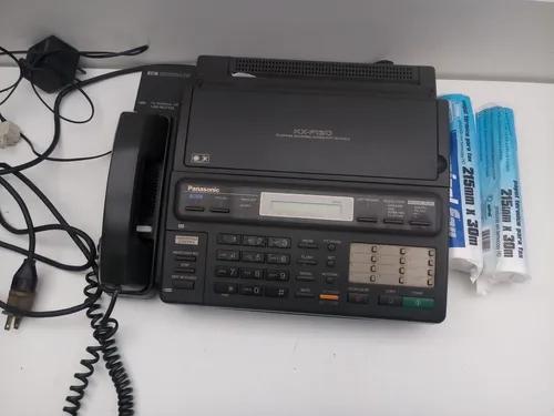 Fax panasonic modelo kxf130 com 2 boninas de papel