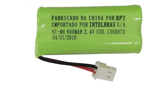 Kit 5 baterias telefone s/fio ts40 ts60 ts3110 intelbr
