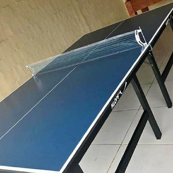 Mesa de ping pong nova dobrável retirar em caieiras,