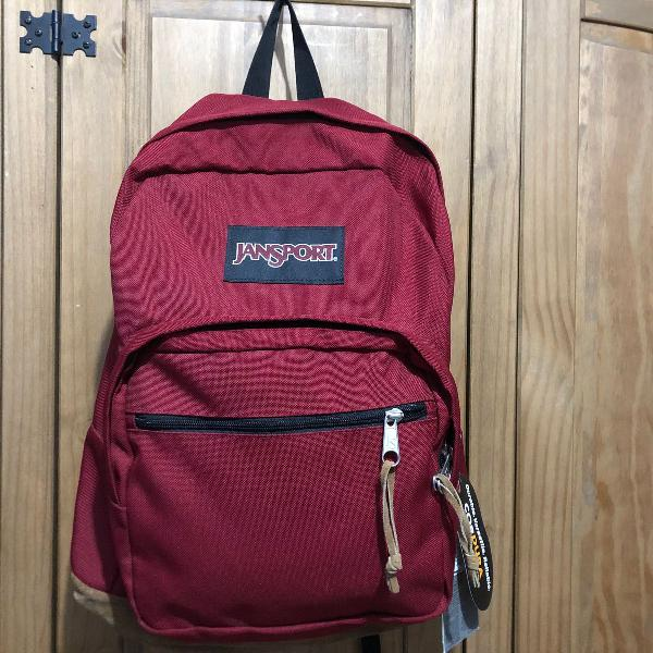 Mochila jansport right pack vermelha