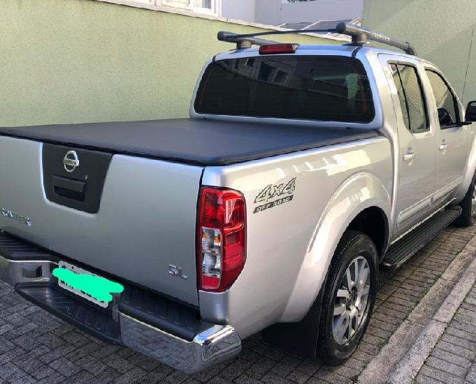 Nissan frontier sl diesel 4x4 2015 automatica couro top