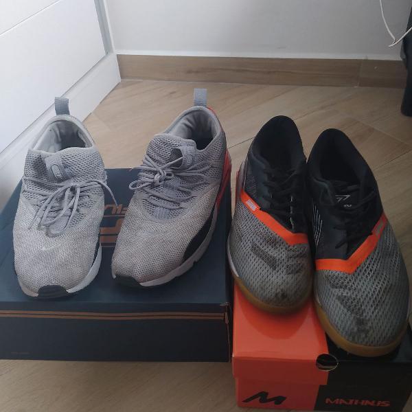 Nike Air Max e chuteira da Umbro, originais