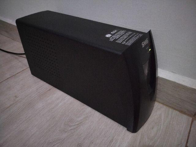 Nobreak sms net4+ 1400va com 2 baterias moura novas