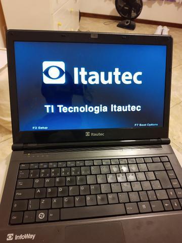 Notebook itautec 8gb