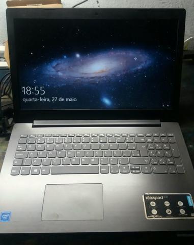 Notebook lenovo memória 4gb, hd 500
