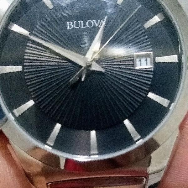 Relógio bulova importado nunca usado!! novo!!