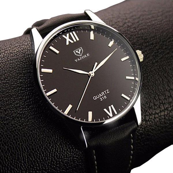 Relógio masculino importado preto - n2