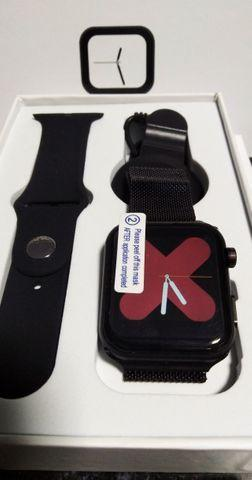 Smartwatch f10 - android e ios - pulseira extra