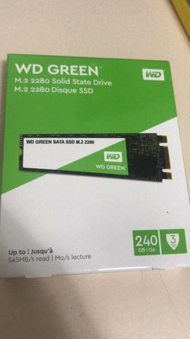 Ssd m2 sata wd green 256gb