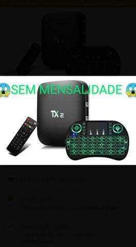 Tv box p transformar qualquer tv em smart