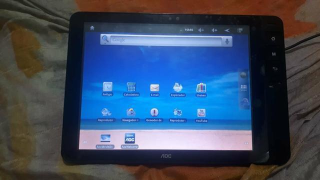 Tablet aoc tela de 8pl pra troc / vd
