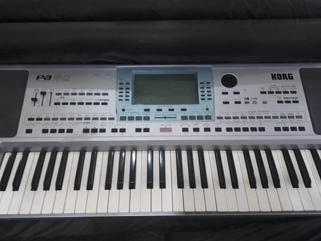 Teclado korg pa 50** case** ritmos de forro.