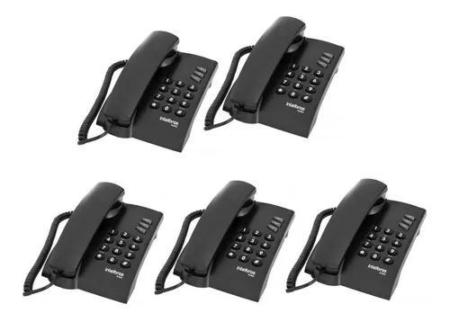 Telefone c fio parede e mesa intelbras pleno