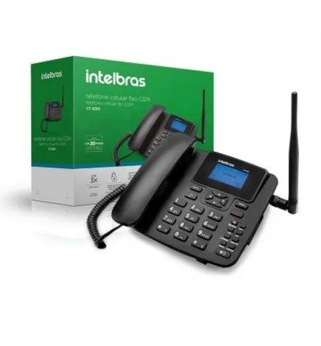 Telefone celular fixo gsm cf4202