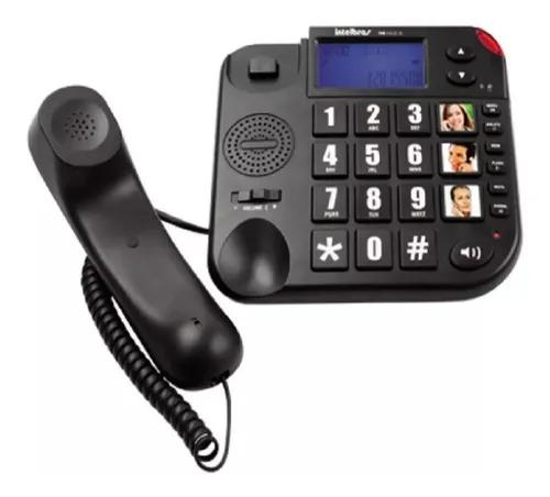 Telefone c/fio tok fácil id - intelbras