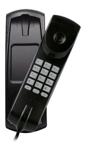 Telefone com fio gôndola intelbras tc20 preto