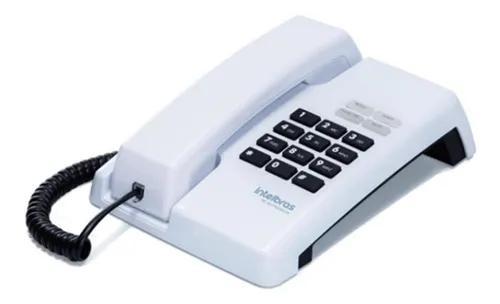 Telefone com fio intelbras tc50 pr