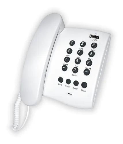 Telefone fixo com fio plus unitel
