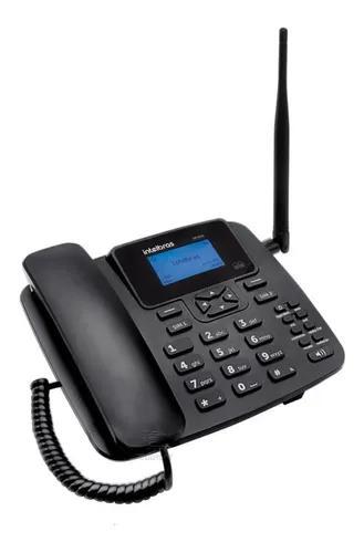 Telefone fixo rural intelbras cf4202 dual chip gsm internet