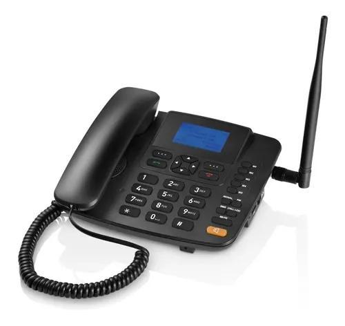 Telefone para área rural 2g fixo de mesa desbloqueado para