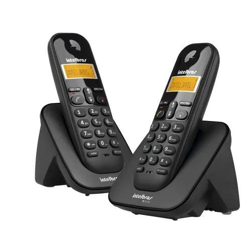 Telefone + ramal intelbras ts3112 s/fio id preto +nfe