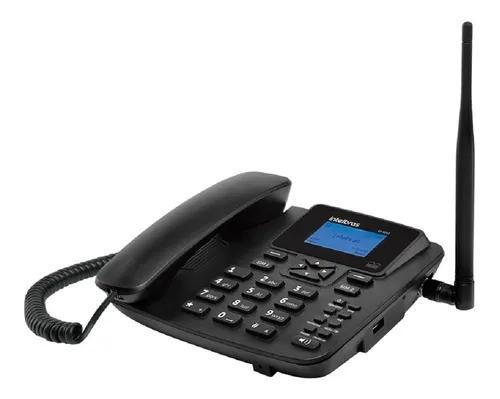 Telefone rural celular de mesa cf 4202 intelbras