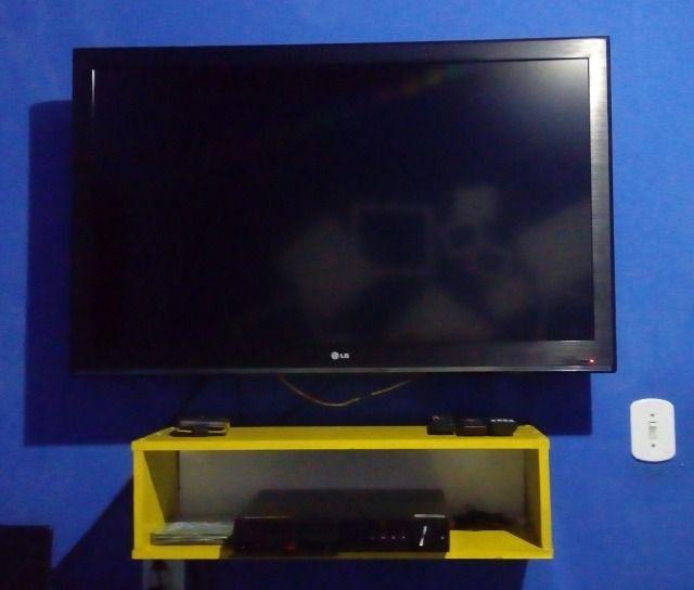 Tv 42 polegadas lcd full hd c/ entradas hdmi e usb e