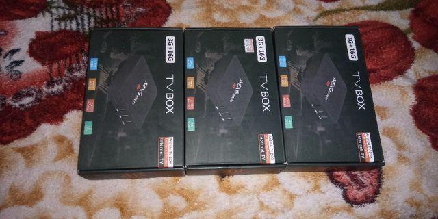 Tv box mxq pro 4k 3 gigas de ram e 16 gigas de armazenamento