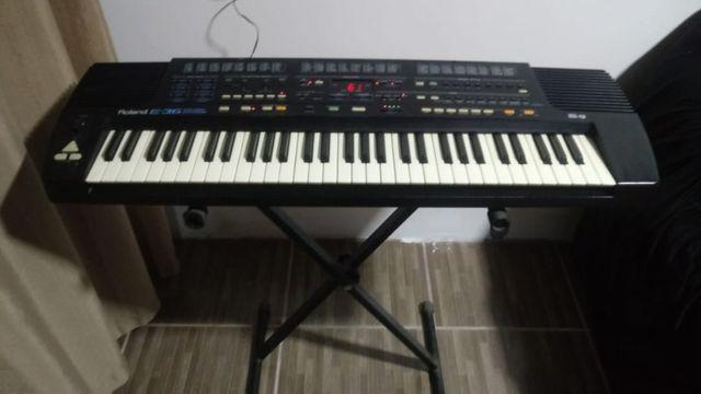 Vende se teclado roland e36