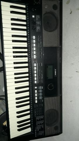 Yamaha psr e 433, troco em cell
