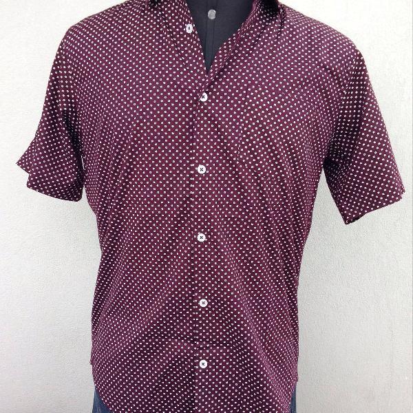Camisa manga curta preston field
