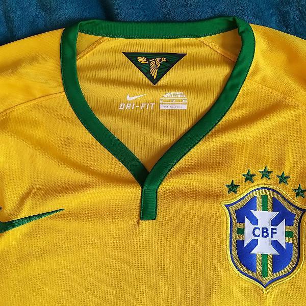 Camisa Nike Da Selecao Brasileira 2014 Em Sao Paulo Clasf Moda E Beleza