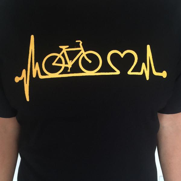 Camiseta ciclismo estampas variadas