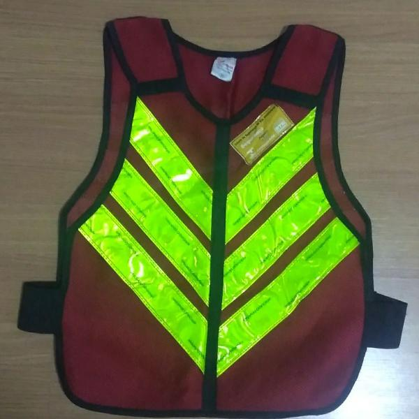 Colete refletivo motoboy faixa aprovada pelo denatran
