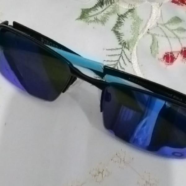 Culos de sol wingspan lente azul